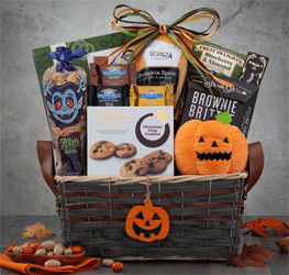 gift basket for Halloween