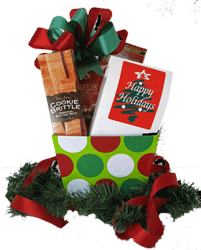 Holidays gift box
