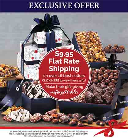 Maple Ridge Free Shipping