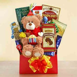 Beary Happy Birthday gift with birthday bear