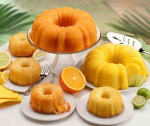 Tropical bundt cakes shipped from Florida