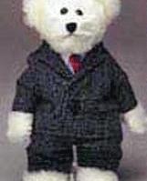Business Man Teddy Bear