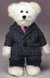 Business Man Teddy Bear