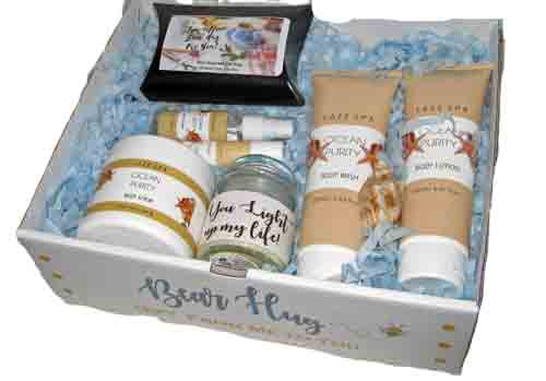 Bear Hug Spa Box