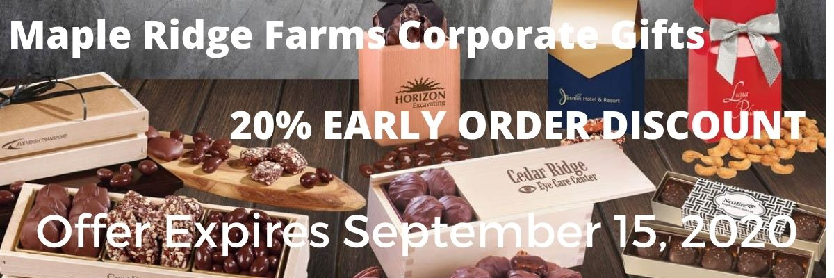 Maple Ridge Farms 20% discount