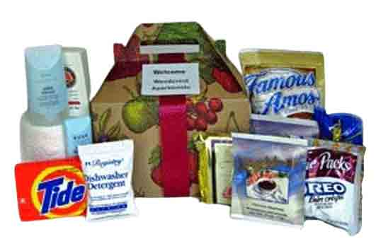 welcome home gift box