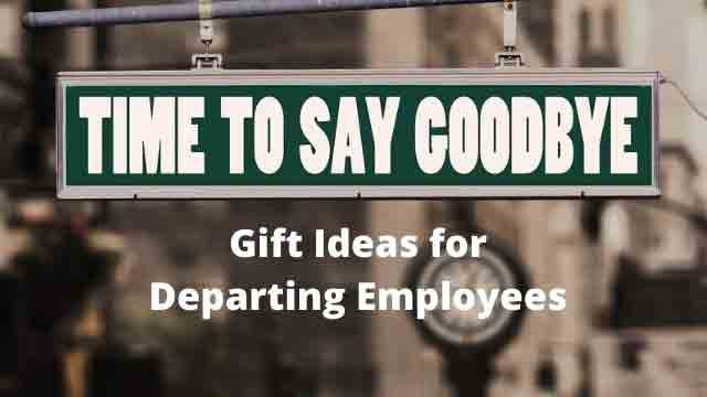 farewell gifts for departing employees