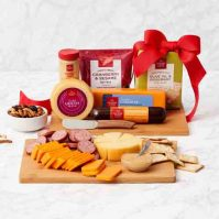 sausage and cheese board