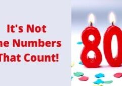 It's Not the Numbers That Count