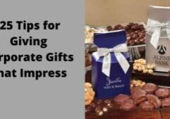 25 tips for giving corporate gifts that impress