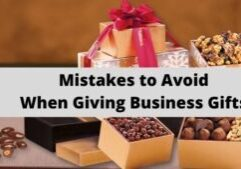 Mistakes to Avoid When Giving Business Gifts